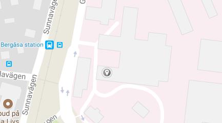 Karta över besöksadress Kataraktregistret.