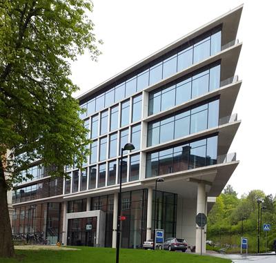Psykiatrins hus i Uppsala.