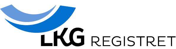 Logotyp för LKG-registret.