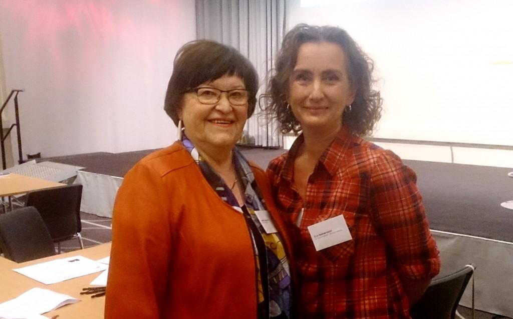 Anita Asplund och Eva Helmersson.