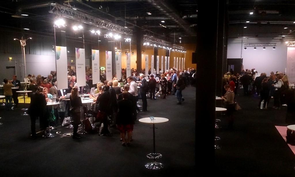 Mötesplatsen under Nationella Kvalitetsregisterkonferensen.
