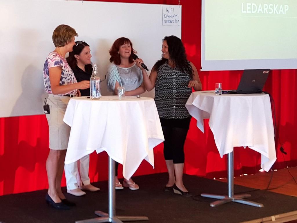 Birgitta Odell-Carlsson med sitt team.