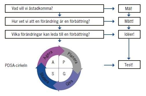 Nolans PDSA-cirkel.