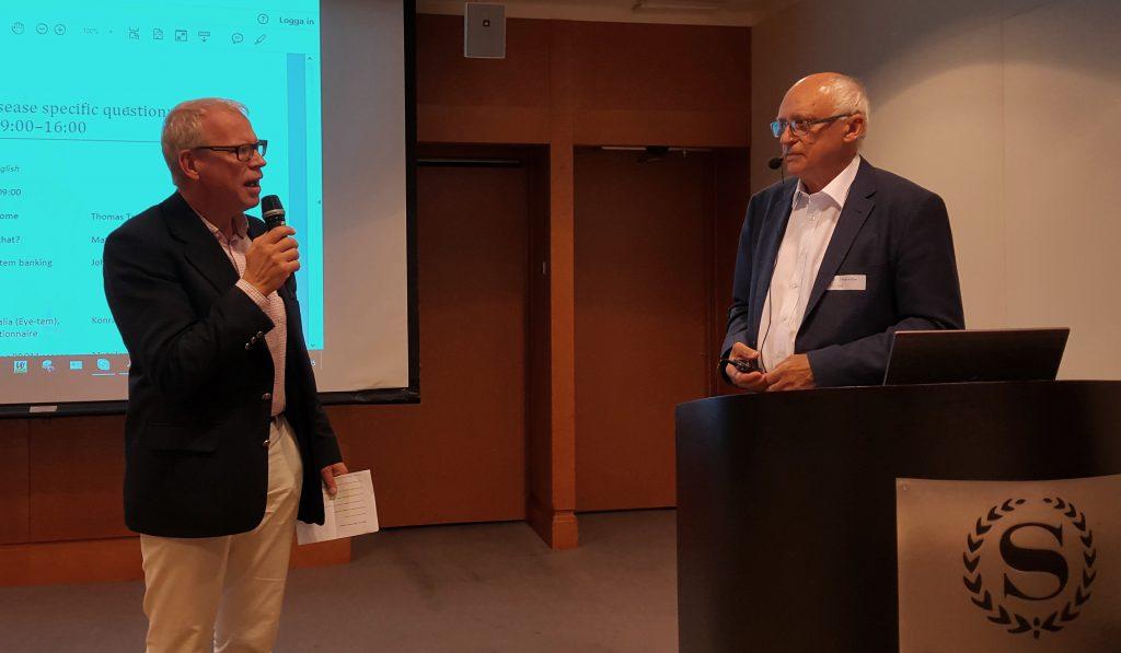 Björn Ohlsson intervjuar Mats Lundström.
