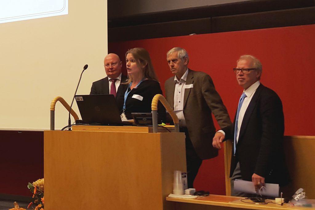 Mikael Åström, Maria Rejmyr Davis, Thomas Troëng och Björn Ohlsson.