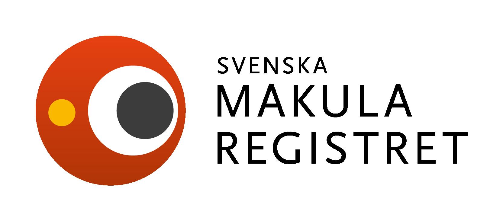 Logotyp för Svenska Makularegistret.